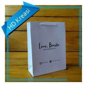 Paper bag toko fashion