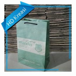 paper bag Bank Syariah Mandiri